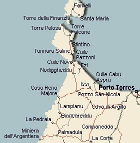 Cartina Sardegna Porto Torres.Promontorio Di Capo Falcone A Stintino Informazioni Turistiche